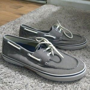 Mens Sperry Halyard 2-eye boat shoes